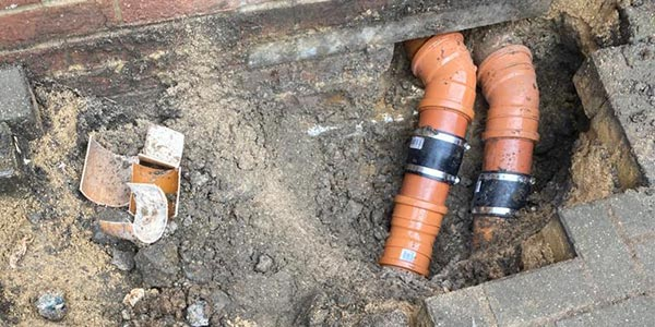 Capital Drainage pipe replacement 2